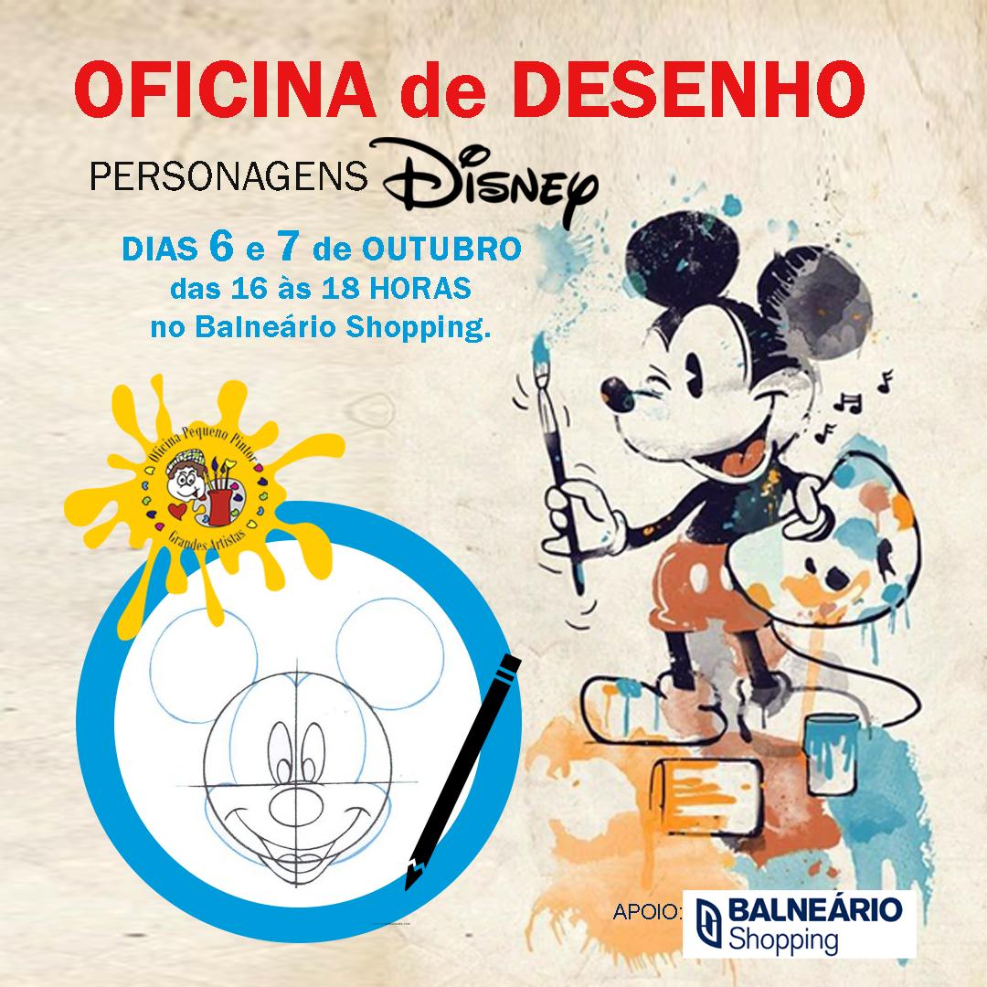 Oficina De Desenho De Personagens Disney Escola De Artes